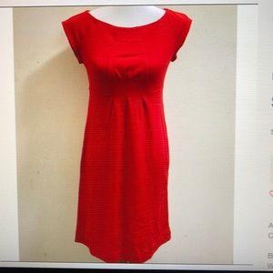 Diane von Furstenberg Chita dark red wool dress 6